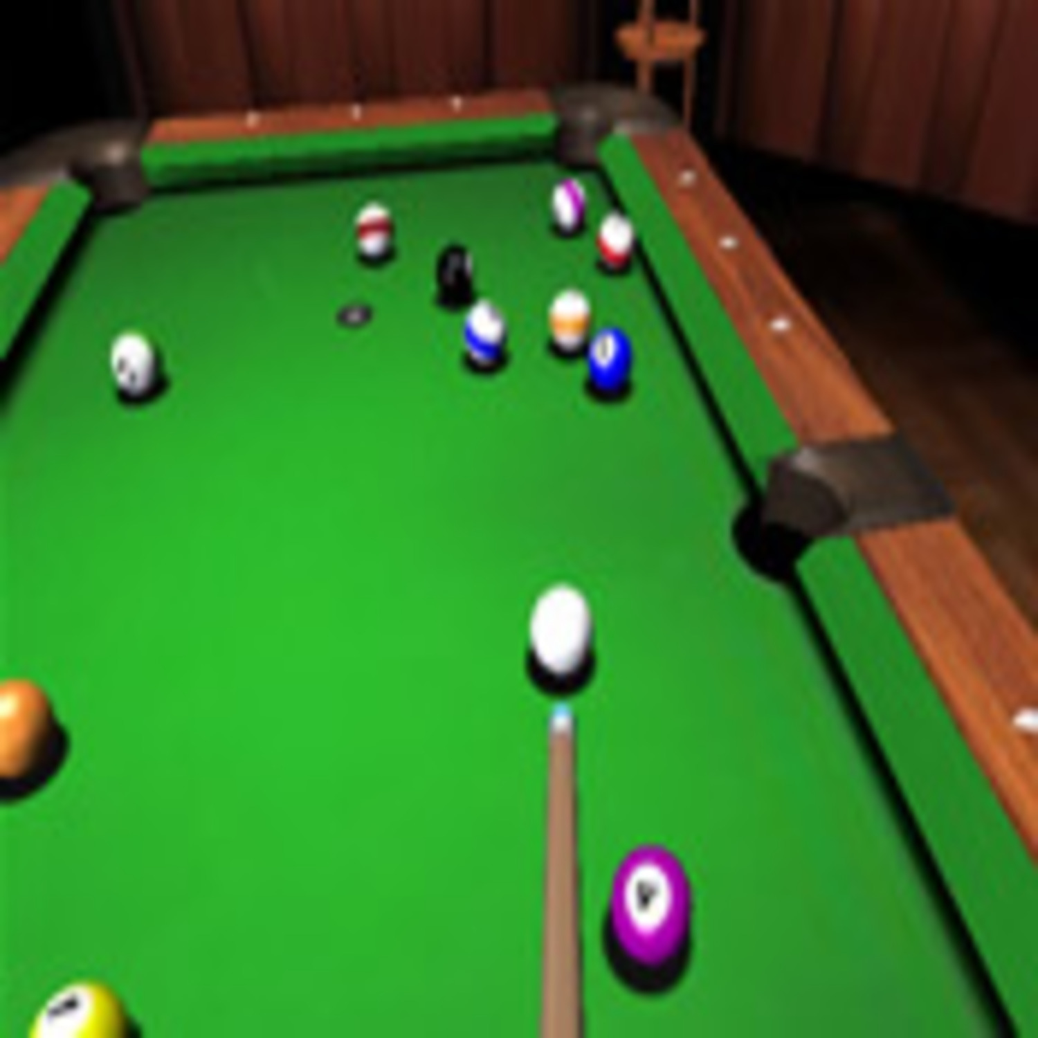 jeu de billard en 3d. Black Bedroom Furniture Sets. Home Design Ideas
